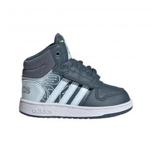 Παπούτσια Adidas FW4925 HOOPS MID (Μεγέθη 20-27)