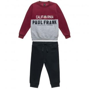 Σετ Φόρμας Paul Frank μπλούζα με κέντημα Julius και παντελονάκι (18 μηνών-5 ετών)
