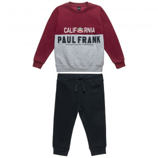 Set Paul Frank sweatshirt with Julius patch and joggers (18 monhts-5 years)