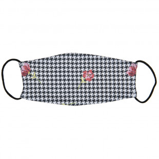 Mask fabric with flowers (3-6 years)