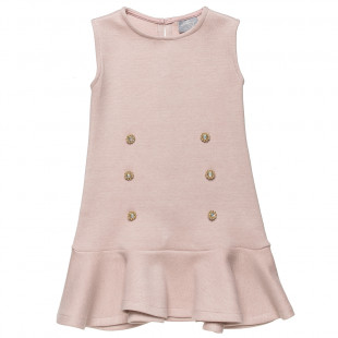 Dress with golden details (6-12 years)