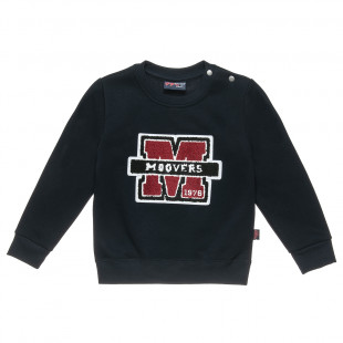 Sweatshirt Moovers with patch print (2-5 years)