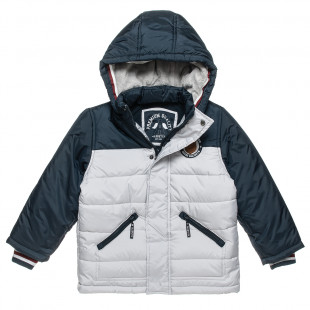 Padded Jacket with patch and pockets (6-16 years)