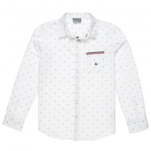 Shirt with all over print and pockets (6-16 years)