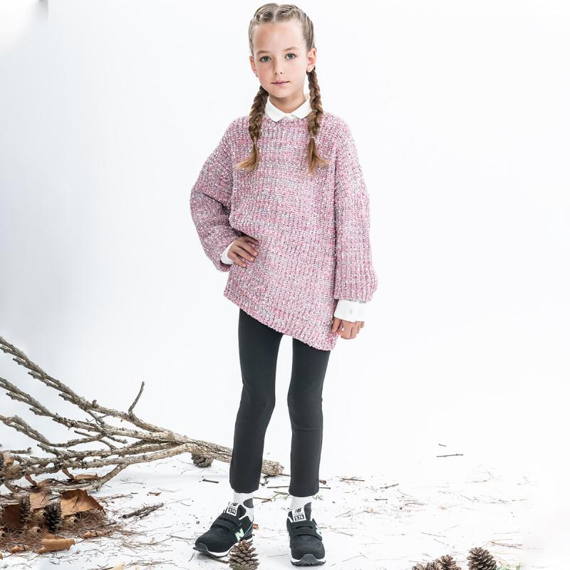 Κολάν από ύφασμα φούτερ με λάστιχο (6-16 ετών)