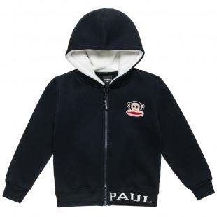 Ζακέτα Paul Frank με κουκούλα και γούνινη επένδυση εσωτερικά (18 μηνών-5 ετών)