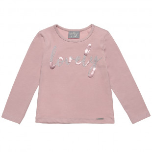Top with lovely print (2-5 years)