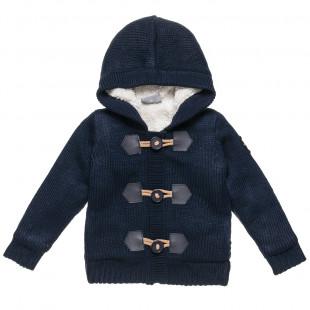 Ζακέτα πουλόβερ με κουμπιά μοντγκόμερι (2-5 ετών)