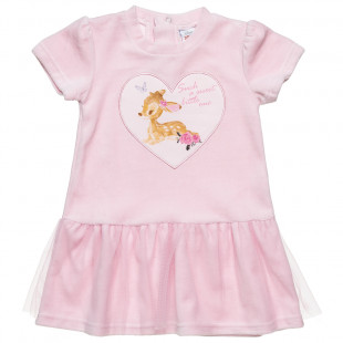 Dress Disney Bambi with tulle (9 months-3 years)