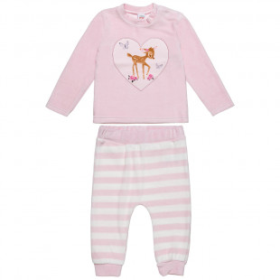 Set Disney Bambi top and joggers (3-18 months)