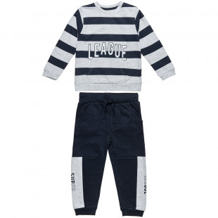 Set sweatshirt stripped and pants (6 months-8 years)