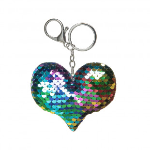 Key chain with shiny details