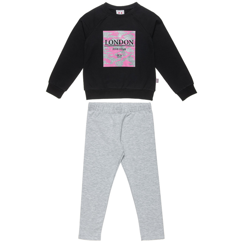 Set Five Star sweatshirt and leggings (6-16 years)