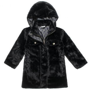 Furry Jacket with pockets (6-16 years)