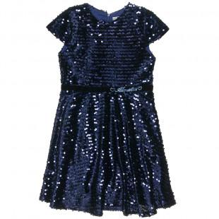 Φόρεμα με παγιέτα all over (6-12 ετών)