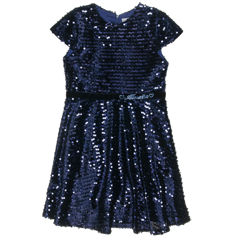 Dress with shiny details (6-12 years)