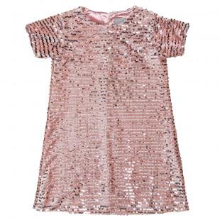 Φόρεμα με παγιέτα (6-12 ετών)