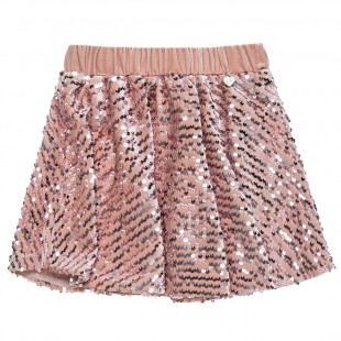 Skirt with shiny details (3-8 years)