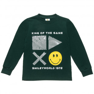 Top Smiley with print (6-14 years)