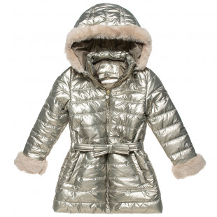 Jacket with detachable hood and pockets (6-16 years)