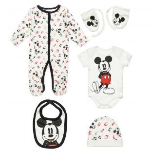 Σετ Disney Mickey Mouse 5 τεμάχια (3-9 μηνών)