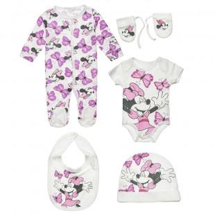 Set Disney Minnie Mouse 5 pieces (3-9 monhts)