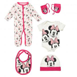 Set Disney Minne Mouse 5 pieces (3-9 monhts)