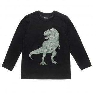 Μπλούζα με τύπωμα δεινόσαυρο (8-16 ετών)