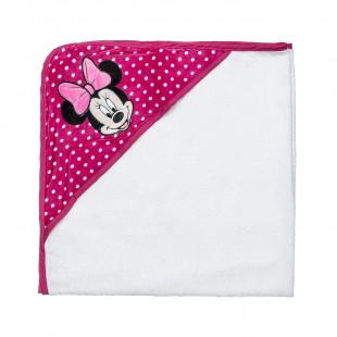 Μπουρνουζοπετσέτα Disney Minnie Mouse 75x75 cm