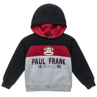 Μπλούζα Paul Frank με κουκούλα (18 μηνών-5 ετών)