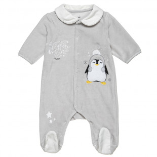 Babygrow Tender Comforts velours with peguine (1-9 months)
