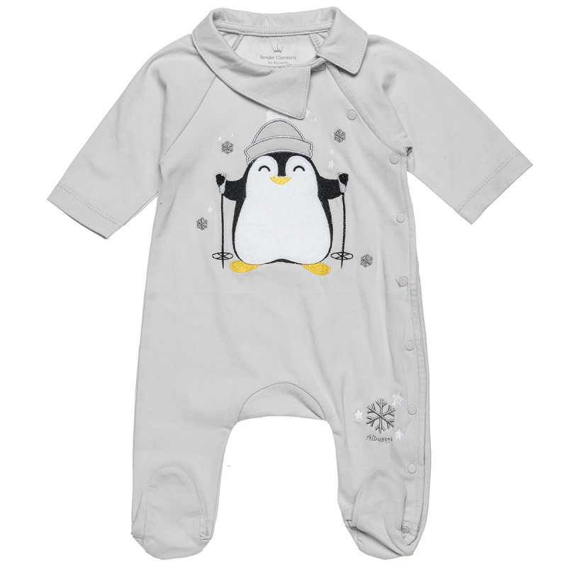 Babygrow Tender Comforts with pinguine patch (1-9 months)