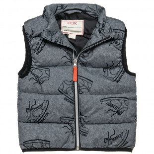 Vest Jacket with design (18 months-3 years)