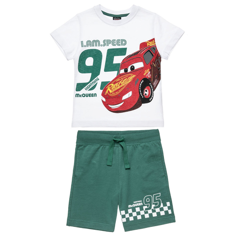 Set Mac Queen blouse with print and pants (2-6 years)