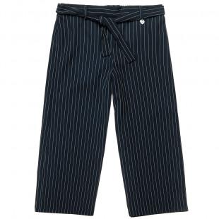 Παντελόνα με ρίγες και ζωνάκι (8-16 ετών)