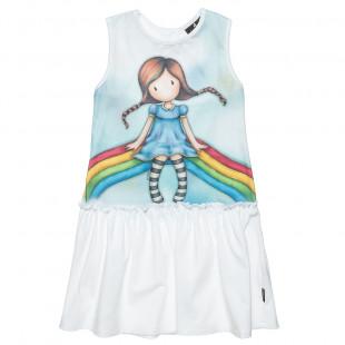 Φόρεμα Santoro αμάνικο με άνοιγμα στην πλάτη (6-12 ετών)
