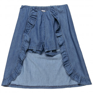 Skirt jeans with shorts in the inside (6-14 years)