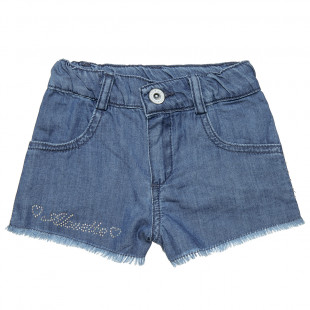 Shorts jeans with strass detail (2-5 years)