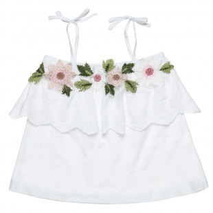 Top with lace detailing (6-14 years)
