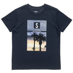 T-Shirt with palmtrees print (6-16 years)