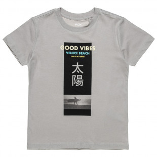 """T-Shirt with print """"Good Vibes"""" (6-16 years)"""