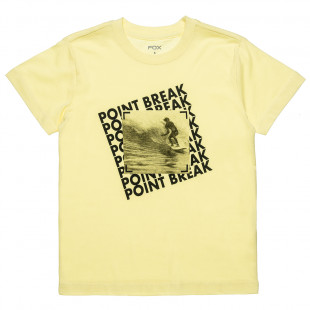 T-Shirt with surfing print (6-16 years)
