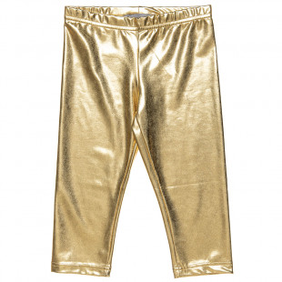 Shiny gold leggings (6-14 years)