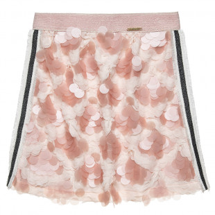Φούστα με ιδιαίτερη διακόσμηση μπροστά (6-12 ετών)