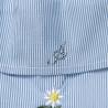 Μπλούζα με ρίγες και βολάν (6-14 ετών)