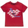 Σετ Moovers μπλούζα με τύπωμα και βερμούδα με κορδόνια (12 μηνών-5 ετών)