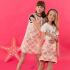 Dress with special decoration and pearls (6-16 years)