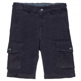 Pants with cargo pockets (6-14 years)