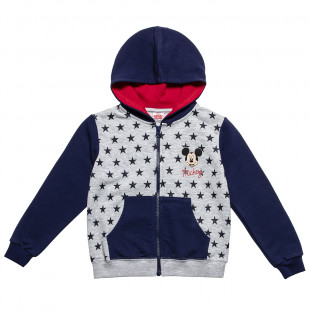 Disney Mickey Mouse Hoodie with stars print (12 months-5 years)