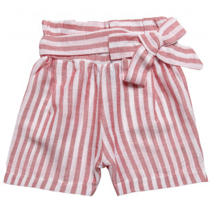 Striped Shorts with bow (6-12 years)